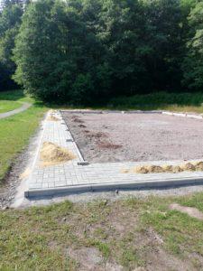 Read more about the article Bolzplatz arbeiten gehen voran